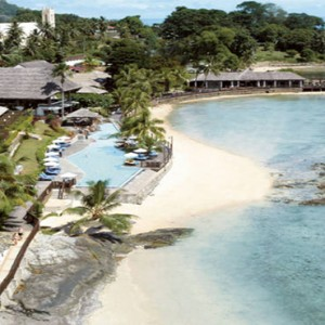Le Meridien Fisherman's Cove - Luxury Seychelles Holiday Packages - aerial view