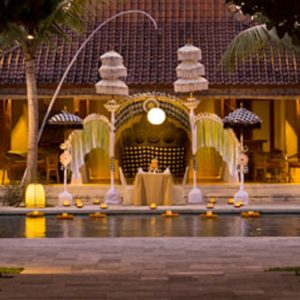 Luxury Bali Holiday Packages Sudamala Suites & Villas Private Romantic Dining