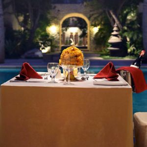 Luxury Bali Holiday Packages Sudamala Suites & Villas Private Romantic Dining At Night1