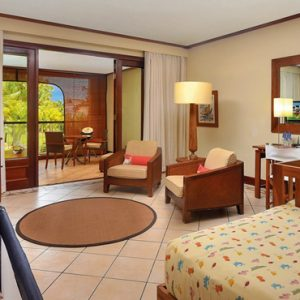 Luxury Mauritius Holiday Packages Paradis Beachcomber Golf Resort And Spa 2 Bedroom Luxury Family Beachfront Suite 2