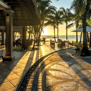 Luxury Mauritius Holiday Packages Paradis Beachcomber Golf Resort And Spa Pool At Sunset