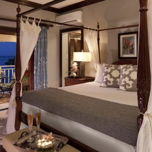 Royal Oceanfront One Bedroom Butler Suite Sandals Royal Plantation Luxury Jamaica All Inclusive Holidays