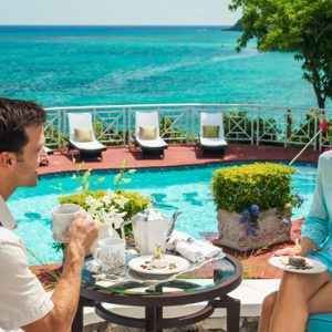 Afternoon Tea Sandals Royal Plantation Luxury Jamaica All Inclusive Holidays