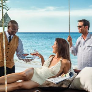 Butler Service Sandals Royal Plantation Luxury Jamaica All Inclusive Holidays