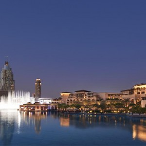 The Palace Downtown Dubai - Luxury Dubai holiday packages - Exterior at night