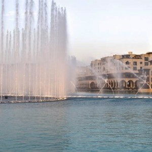 The Palace Downtown Dubai - Luxury Dubai holiday packages - Fountain