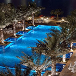 The Palace Downtown Dubai - Luxury Dubai holiday packages - Poolside