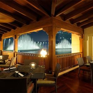 The Palace Downtown Dubai - Luxury Dubai holiday packages - Thiptara Terrace