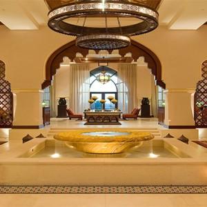 The Palace Downtown Dubai - Luxury Dubai holiday packages - lobby fountain