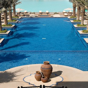 The Palace Downtown Dubai - Luxury Dubai holiday packages - swimming pool