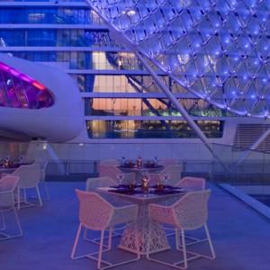 dining 2 - yas viceroy abu dhabi - luxury abu dhabi holidays