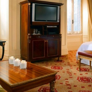 Imperial room 2 - st regis rome - luxury rome holiday packages