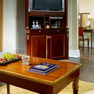 Junior suite 2 - st regis rome - luxury rome holiday packages
