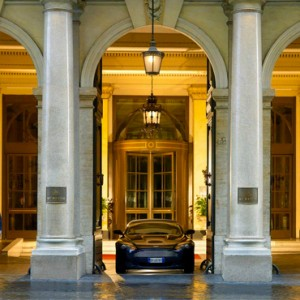 exterior - st regis rome - luxury rome holiday packages