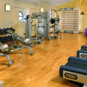 gym - st regis rome - luxury rome holiday packages