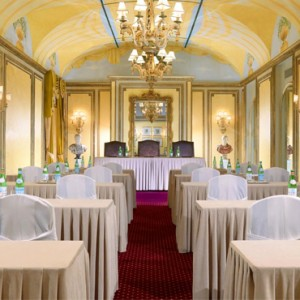 meeting room 2 - st regis rome - luxury rome holiday packages