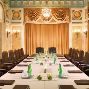 meeting room - st regis rome - luxury rome holiday packages