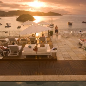 sunset - casasa branca boutique hotel and spa - luxury brazil holiday packages