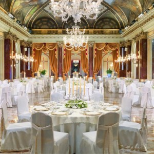 wedding - st regis rome - luxury rome holiday packages