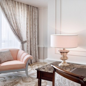 Palazzo Versace - Luxury Dubai Holiday packages - Executive suites - seating