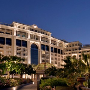 Palazzo Versace - Luxury Dubai Holiday packages - hotel exterior1