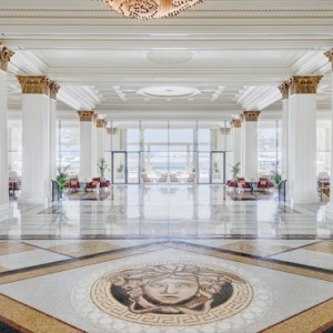 Palazzo Versace - Luxury Dubai Holiday packages - hotel lobby