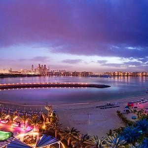 Rixos The Palm Dubai - Luxury Dubai holiday Packages - aerial view