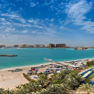 Rixos The Palm Dubai - Luxury Dubai holiday Packages - aerial view1