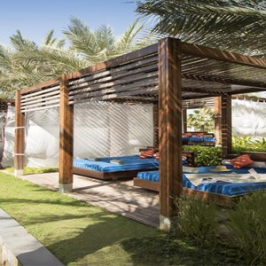 Rixos The Palm Dubai - Luxury Dubai holiday Packages - cabanas
