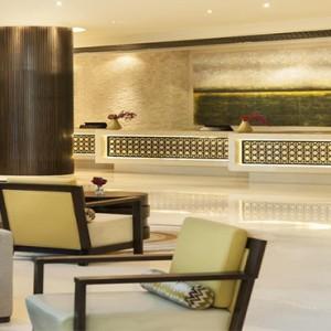 Rixos The Palm Dubai - Luxury Dubai holiday Packages - reception