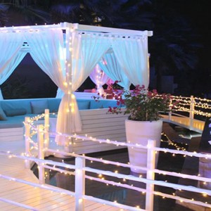 Rixos The Palm Dubai - Luxury Dubai holiday Packages - romantic cabana