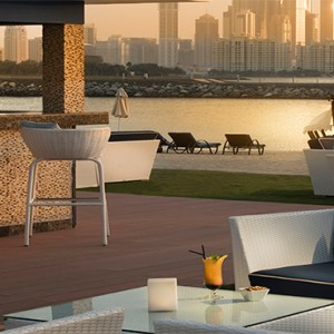 Rixos The Palm Dubai - Luxury Dubai holiday Packages - sunset view