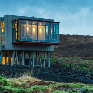 exterior 2- ion luxury adventure hotel - luxury iceland holiday packages