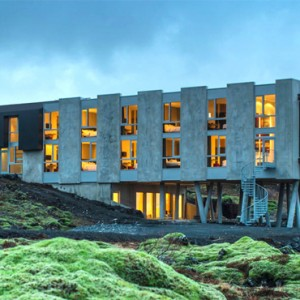 exterior - ion luxury adventure hotel - luxury iceland holiday packages
