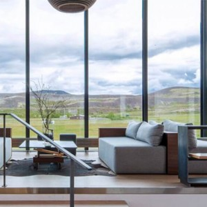 lobby - ion luxury adventure hotel - luxury iceland holiday packages
