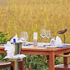 Jetwing Vil Uyana - Luxury Sri Lanka Holiday Packages - Private dining