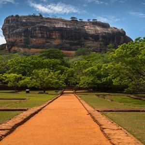 Jetwing Vil Uyana - Luxury Sri Lanka Holiday Packages - Sigiriya rock attraction