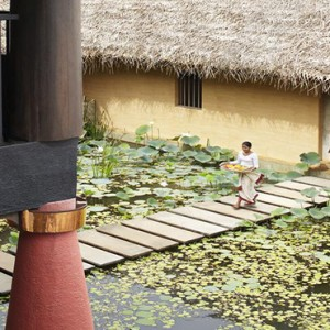 Jetwing Vil Uyana - Luxury Sri Lanka Holiday Packages - Spa Entrance