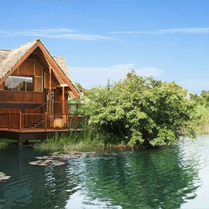Jetwing Vil Uyana - Luxury Sri Lanka Holiday Packages - Water Dwelling Exterior