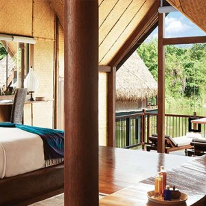 Jetwing Vil Uyana - Luxury Sri Lanka Holiday Packages - Water Dwelling Interior