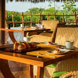 Uga Chena Huts Yala - Luxury Sri Lanka Holiday packages - Basses restaurant