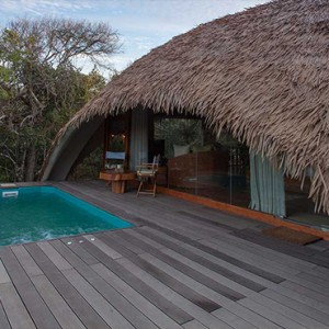 Uga Chena Huts Yala - Luxury Sri Lanka Holiday packages - cabin with pool