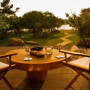 Uga Chena Huts Yala - Luxury Sri Lanka Holiday packages - ocean view