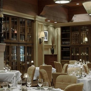 dining 3 - fairmont chateau whistler - luxury canada holiday packages