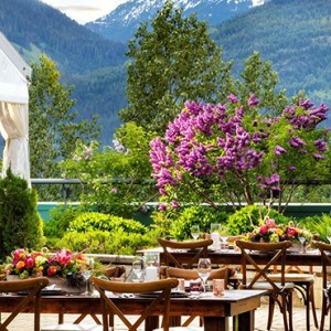dining 8 - fairmont chateau whistler - luxury canada holiday packages