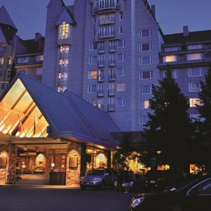 exterior 2 - fairmont chateau whistler - luxury canada holiday packages