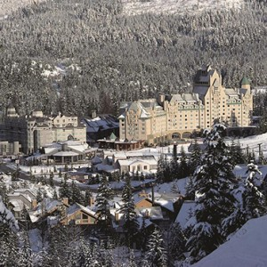 exterior 3 - fairmont chateau whistler - luxury canada holiday packages