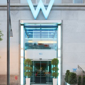 exterior 3 - w montreal - luxury montreal holiday packages