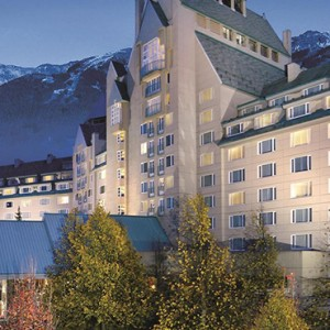 exterior 4 - fairmont chateau whistler - luxury canada holiday packages