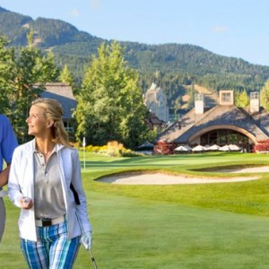 golf 3 - fairmont chateau whistler - luxury canada holiday packages